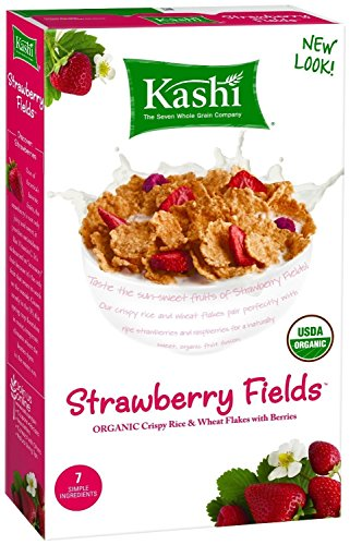 Kashi Organic Promise Strawberry Fields Cereal, 10.4-Ounce Boxes (Pack of 4)