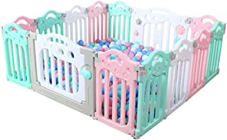 GWFVA Indoor Baby Barrier Baby Crib Playground Baby Park Made from non-toxic materials