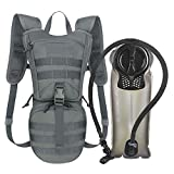 Unigear Tactical Hydration Packs Backpack 1050D with 2.5L Water Bladder, Thermal Insulation Pack...