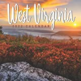 West Virginia 2022 Calendar: Gifts for Friends and Family with 12-month Monthly Calendar in 8.5x8.5 inch