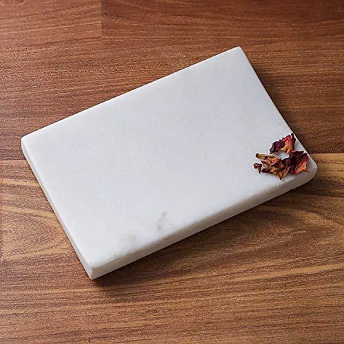 INA KI Natural Marble Soap Dish (for Home, Kitchen, Bath & Spa)