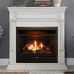 ** TECHNOLOGY - 26, 000 BTU Patented DUAL FUEL TECHNOLOGY using Natural Gas or Liquid Propane Blue Flame Heater which Heats up to 1, 350 sq. ft. Area. ** DEPENDABLE - Remote Control offers the most customizable heat settings, Ideal for greater heat f...