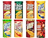 チップスターS 50g 8種(うすしお味/のりしお味/コンソメ味/バターしょうゆ/サワークリームオニオン味/四川風よだれ鶏  /香るえび油/トマト&オリーブオイル味)