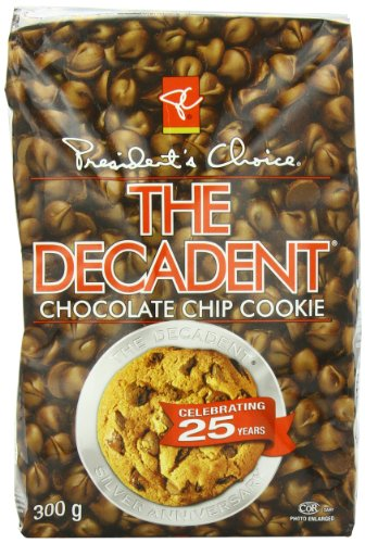 President's Choice the Decadent Chocolate Cookie, Chip, 300g