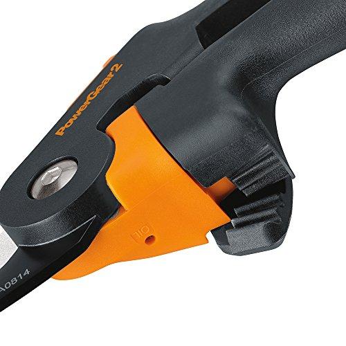 Fiskars 391041-1001 046561291044 PowerGear2 Pruner, Steel