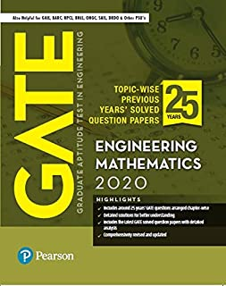 GATE Topic-wise Previous Years' Solved Question Papers Engineering Mathematics