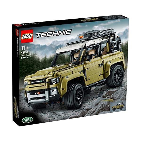 Caja LEGO Technic Land Rover Defender