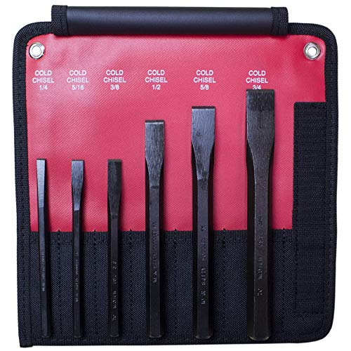 Mayhew Pro 60560 Cold Chisel Kit, 6-Piece