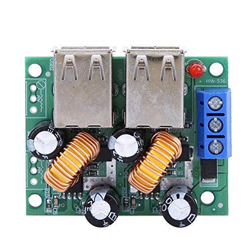 Programmeerbare Soft Start 7-40V tot 5V 3A 4 USB-interface Autolader Buck-module Step Down Board