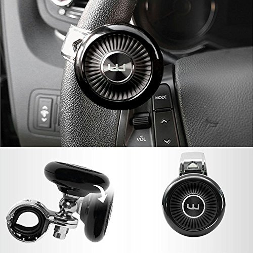 Autoban Wine W Folder Folding Steering Wheel Power Handle Spinner Suicide Accessory Knob for Car Vehicle Truck