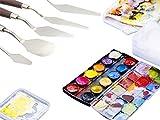 5-teiliges Spachtel-Set aus Edelstahl, Spachtel, Palettenmesser, Farbenmischer, Kratzer zum Entfernen, für 3D-Druck-Arbeiten - 7