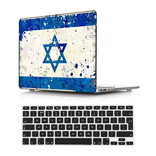 NEWCENT New MacBook Pro 15' Case,Plastic Ultra Slim Light Hard Case UK Keyboard Cover for Mac Pro 15 with Touch Bar 2016-2018 Release (Model:A1707/A1990),DL109