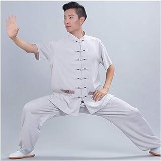 fwadu Tai Chi odzież męska miękka luźna tai chi mundurek kungfu ubrania sztuki walki odzież szkoleniowa grupa performance ...
