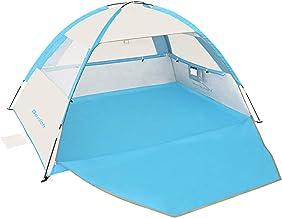Gorich [2019 New Beach Tent، UV Sun Shelter Lightweight Beach Shade Canopy Cabana Beach Tits Fit 3-4 Person