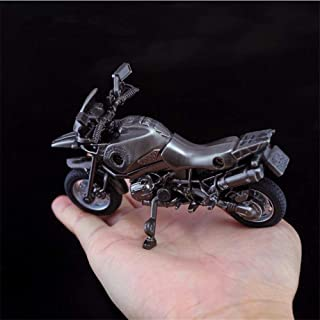 Sonlam Store Game PUBG Motorcycle Cosplay Costumes Accessories Accessories Playerunknown Battlefields Alloy Motorbike Model Toy Decoration (1)