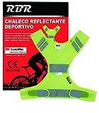 RBR Chaleco Reflectante 3M Scothlite Homologado Sport (Amarillo)