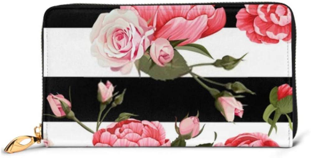Fashion Bombing free shipping Handbag Zipper Wallet Peony Bargain Roses Seamless Patter Vector