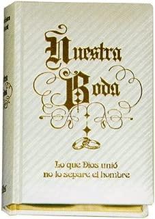 Biblia Petisco Normal Boda Nácar Mod. A-8