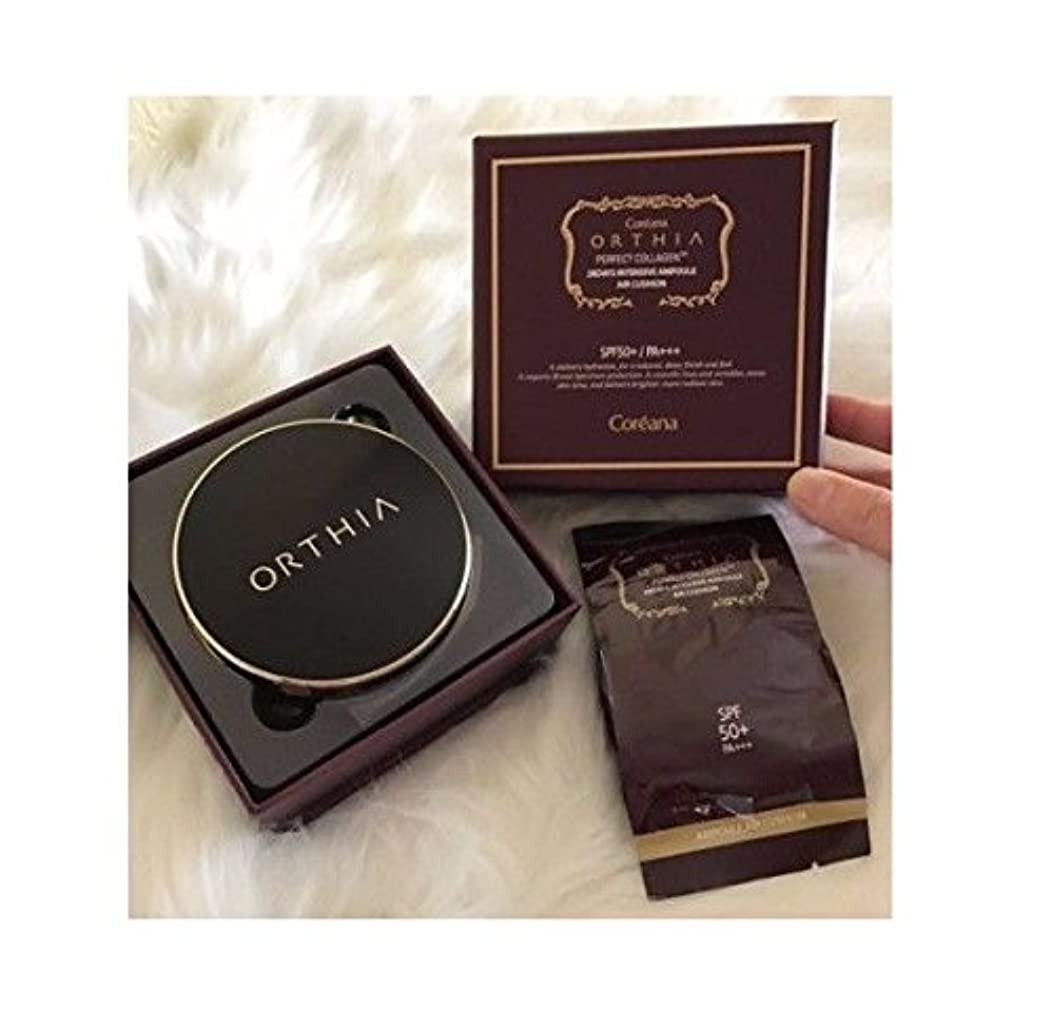 宝洗練ねばねばCoreana Orthia Perfect Collagen 28days Intensive Air Cushion SPF50+/PA+++(15g + Refill 15g)/Korea Cosmetics