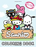 Sanrio Coloring Book For Kids: Great Gifts For Kids Who Love Sanrio Characters. A Lot Of Cute Designs For Kids To Relax And Relieve Stress