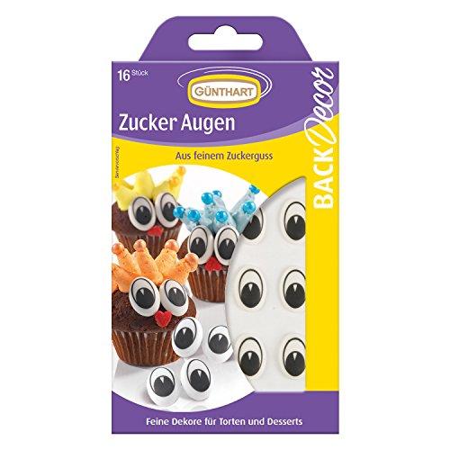 Günthart Zucker Augen, 5er Pack (5 x 8 g)