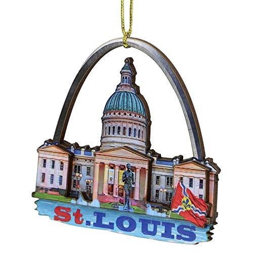 City-Souvenirs 3D Saint Louis Christmas Ornament