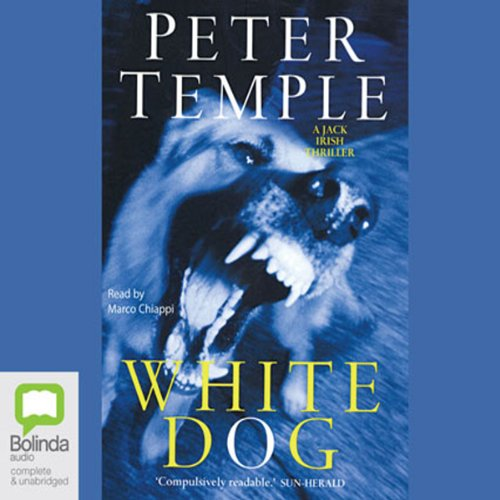White Dog audiobook cover art