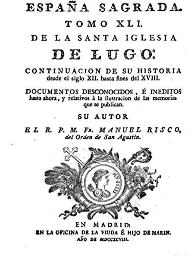 España Sagrada, Tomo XLI eBook: Flórez, Enrique: Amazon.es: Tienda Kindle