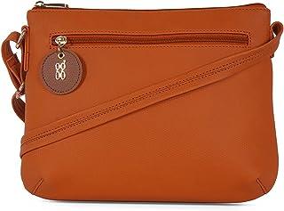Baggit Women's Saddle Handbag (Orange)