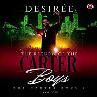 The Return of the Carter Boys audiobook cover art