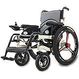 BXZ Silla de ruedas Discapacitados Silla de ruedas Ancianos Sillas de ruedas eléctricas Sillas de ruedas eléctricas Plegables Ligeros Discapacitados Ancianos Viaje Batería de litio Batería de litio d