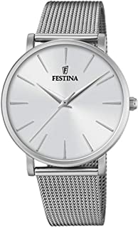 Reloj Analógico para Mujer de Cuarzo con Correa en Acero Inoxidable F20475/1