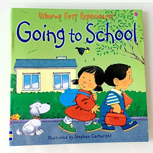VODVO 10Books / Set 15x15cm niños Usborne Libros de imágenes bebé de los niños Famosos Cuentos Infantiles Historia Inglés Libro de Corral educación Historia Eary