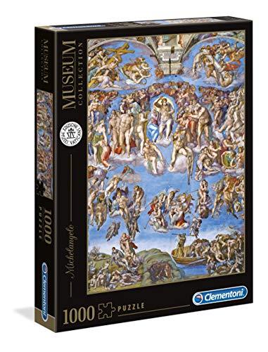 Clementoni- Vatican Puzzle-Michelangelo: Giudizio Universale, Multicolore, 39497