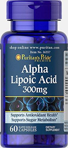 L' acido alpha-lipoïque. Ala 300mg 60capsule.