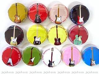 JAJABOON ギター 缶バッジ スタンダードモデル グレッチ