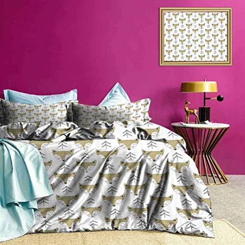 Tagesdecken Bettdecke Schlafen Niedliche Füchse Sommerbettw?sche Verarbeitung & N?Hen sind sehr akribisch