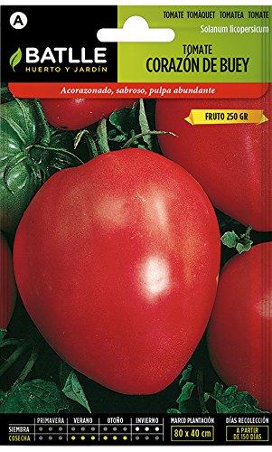 Batlle Gemüsesamen - Tomaten Ochsenherz (350 Samen)