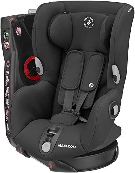 Maxi-Cosi Axiss Swiveling Toddler Car Seat, Extra Secure Fit, Reclining, 9 Months - 4 Years, 9 - 18 kg, Authentic Black: image
