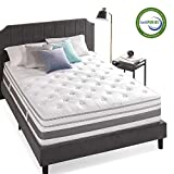 Zinus 14 Inch Gel Memory Foam Pocket Spring Hybrid Mattress / Pocket Innersprings for Motion Isolation / Cooling Foam / Edge Support, King