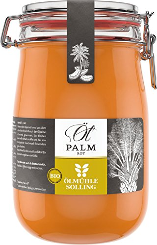 Ölmühle Solling Bio Palmöl im Bügelglas, 1000 ml