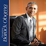President Barack Obama 2021 12 x 12 Inch Monthly Square Wall Calendar, USA United States of America Famous Figure