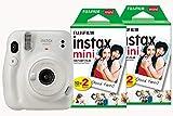 Fujifilm Instax Mini 11 Instant Camera including 40 Shots - Ice White