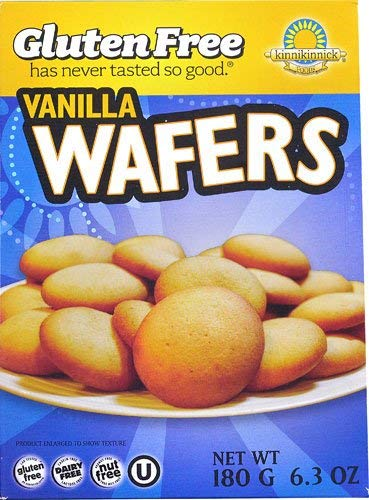 Kinnikinnick Gluten Free Vanilla Wafers -- 6.3 oz (Pack of 4)