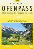 Swisstopo 1 : 50 000 Ofenpass Pass dal Fuorn: Unterengadin / Engiadina Bassa - Nationalpark - Val Müstair. Offizielle Wanderkarte der SAW (Wanderkarten)