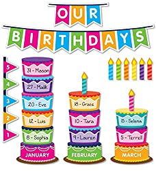 birthday candles bulletin board