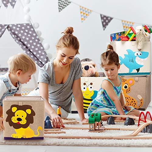 azul Lifeney baul juguetes infantil con tapa I una pr/áctica caja de almacenamiento para cada cuarto de ni/ños I baul juguetes infantil I caja juguetes I almacenaje juguetes