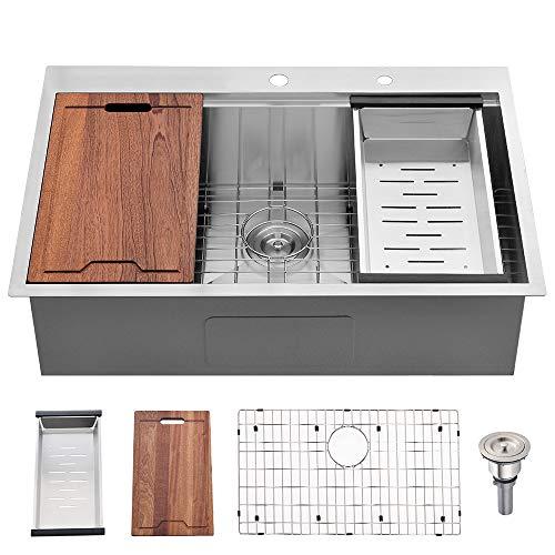 Bokaiya Drop-in Top-mount Kitchen Sink