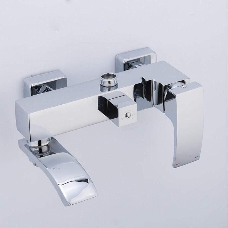 Gorheh Messing Bad Dusche Wasserhahn Badewanne 3 Funktionen Dusche Mischventil Bad Duscharmaturen Wasserfall Dusche Mischbatterie