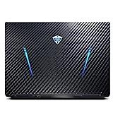 Vaxson 2 Unidades Protector de pantalla Posterior, compatible con Dell Inspiron 15 7000 7559 15.6', Película Protectora Espalda - Fibra de Carbono Negro